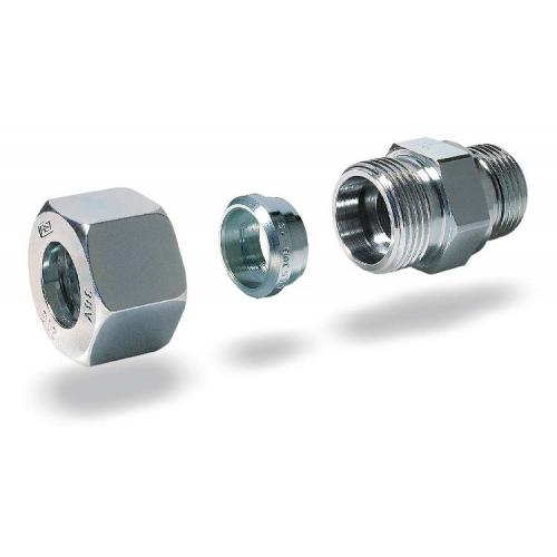 Male Stud Coupling with O-Ring